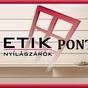 Etik Pont - Fészekrakó 96. Bt. - nyílászáró értékesítés
