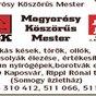 Mogyorósy Mihály késes és köszörűs mester - Kések, ollók, darálók, korcsolyák, kerti szerezsámok élezése