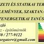 Varga László - építészeti és statikai tervezés, szakértés, energetikai tanúsítá